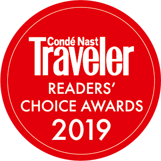 Conde Nast Traveler Award 2019